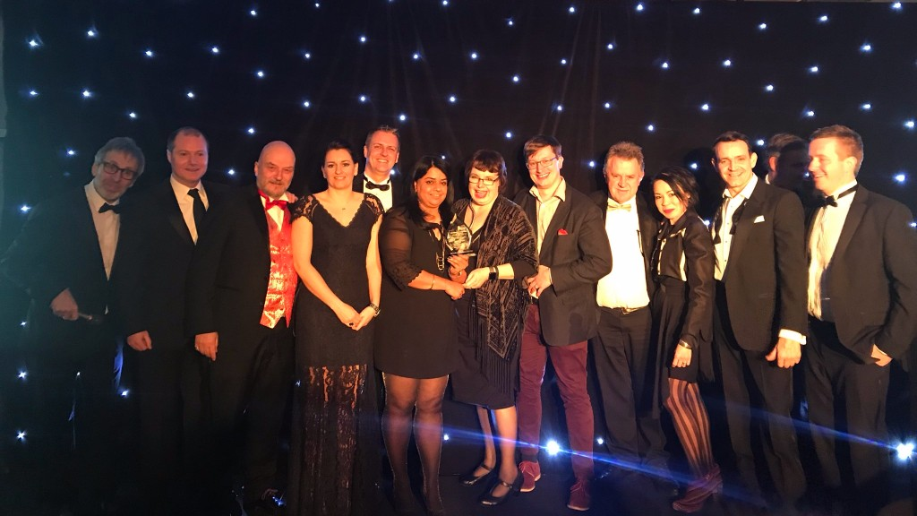 Winning Best Team at the Construction Computing Awards