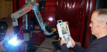 Robot welding technology