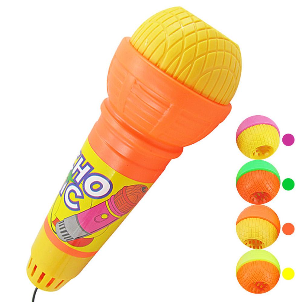 plastic microphone