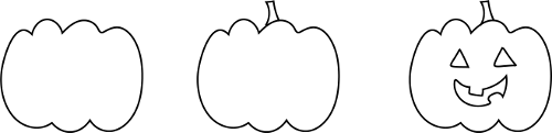 How to draw Hallowe'en images