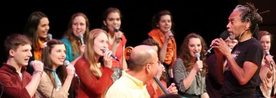 Bobby McFerrin and GC Chamber Choir