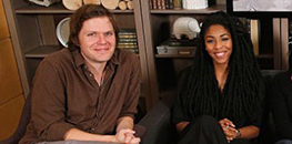 James Strouse and Jessica Williams