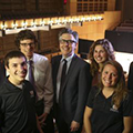 Ira Glass with students