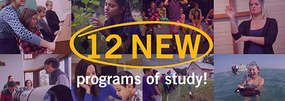 New Programs photo composite