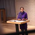 Sarah Thompson speaking