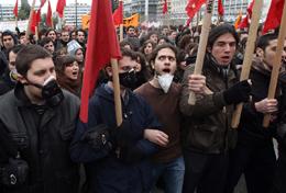 Greece general strike2