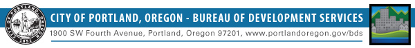 City of Portland, Bureau of Development Services