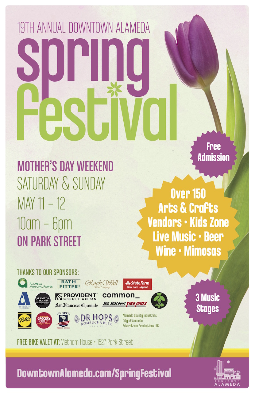 Downtown Alameda Spring Festival 2019
