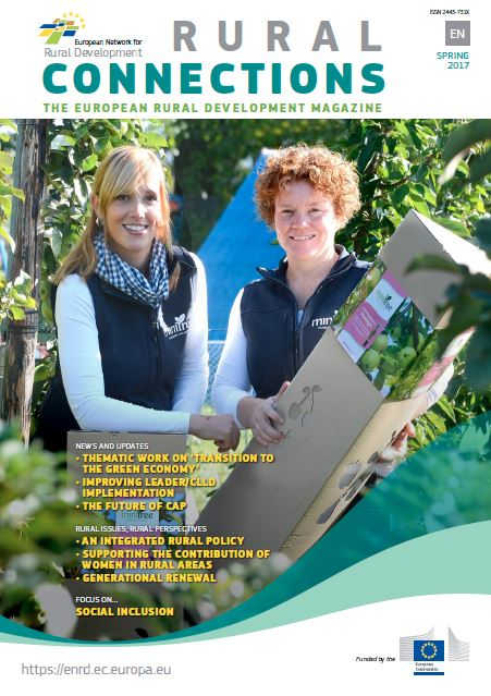 Cover of Rural Connections Magazine