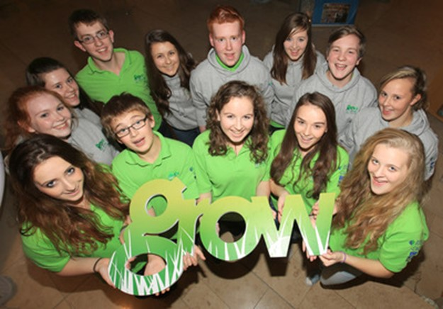 Young participants in GROW