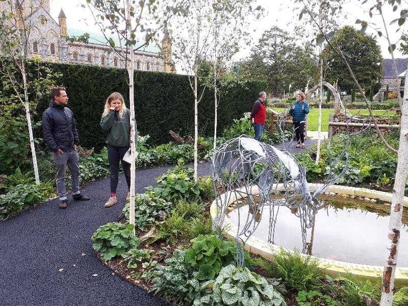 Buckfast millenium garden