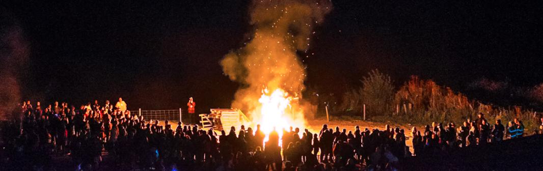 C fest bonfire!