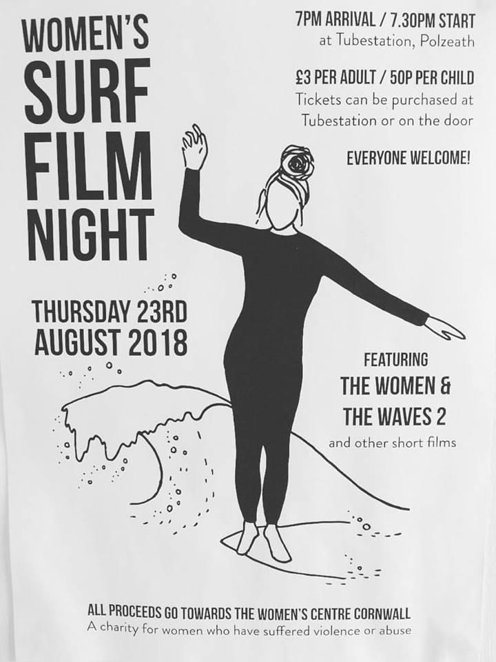 Women's surf film night