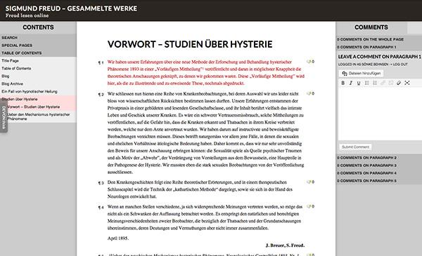 Sigmund Freuds Werk online lesen