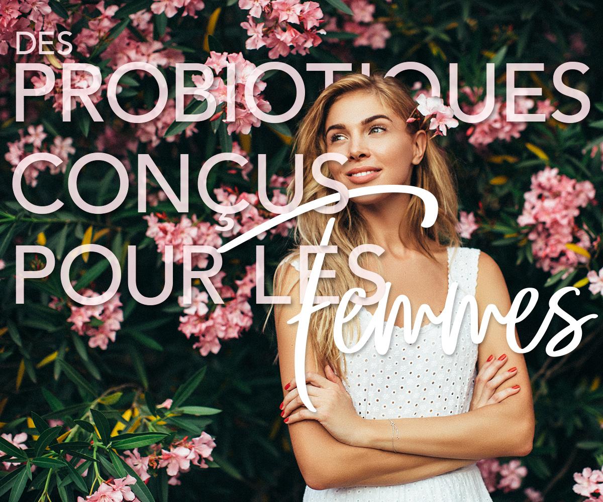Des probiotiques conçus pour les femmes