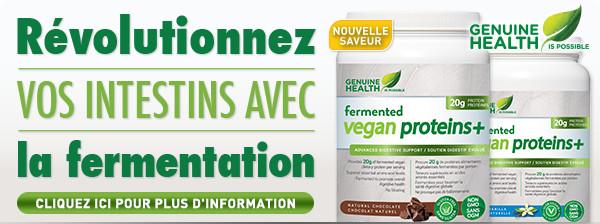 Fermented Vegan Proteins+ de Genuine Health