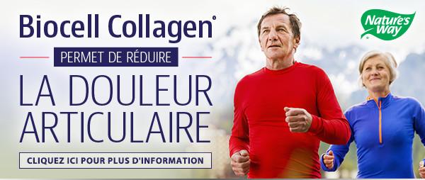 Biocell Collagen permet de réduire la douleur articulaire