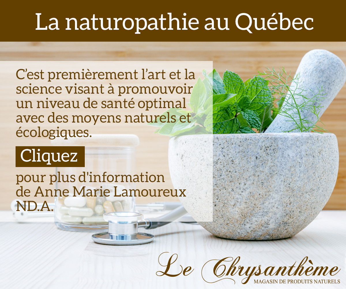 La naturopathie au Québec