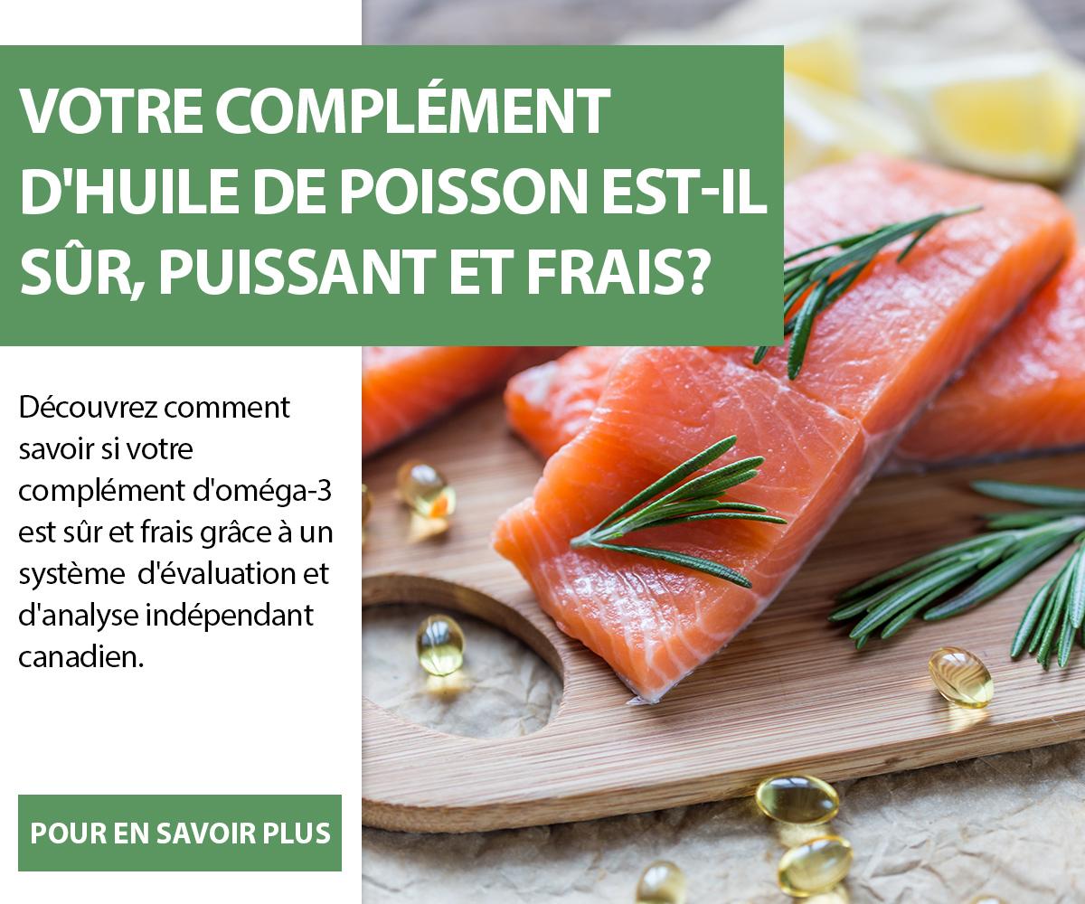 Votre complément d'huile de poisson est-il sûr, puissant et frais?