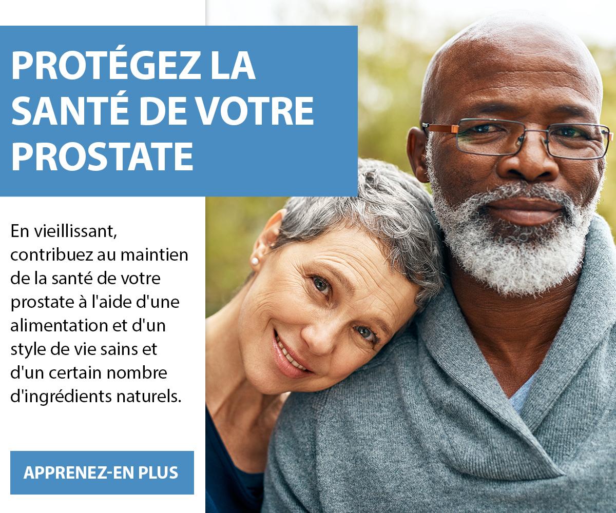 Protégez la santé de votre prostate