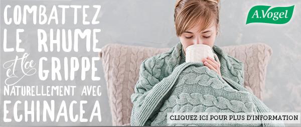Combattez le rhume et la grippe naturellement avec Echinacea