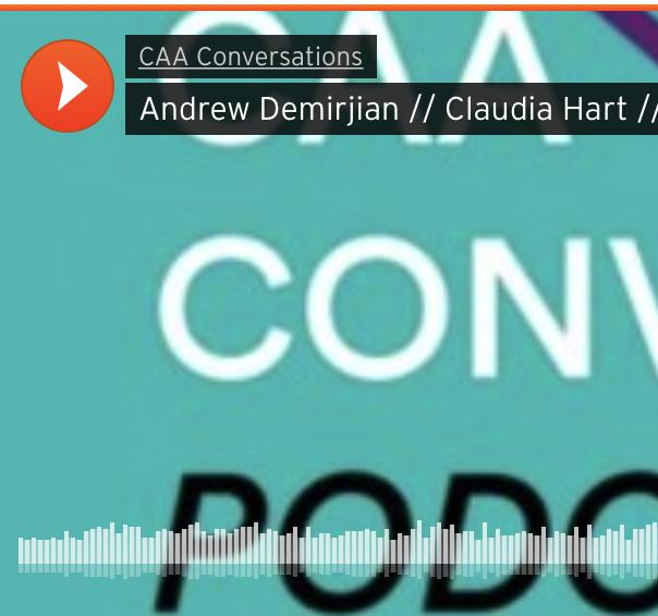 CAA Conversation Podcast Image