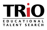 TRiO - Educational Talent Search logo