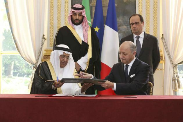 La France pieds et poings liés avec l'Arabie Saoudite. Obligée de soutenir la pétromonarchie pour des raisons économiques, les droits de l'homme sont tranquillement passés sous silence Terrorisme / Arabie Saoudite : le Quai d'Orsay patauge 82817863-c017-482e-8516-7d138a89d898