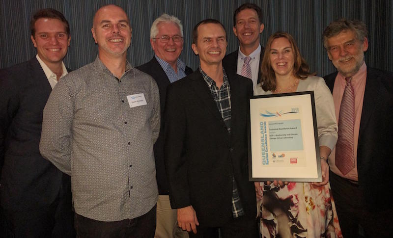 Griffith University and QCIF at the Queensland Spatial Excellence Awards