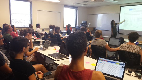 Software Carpentry Instructor Training at UQ, 18–19 January 2016