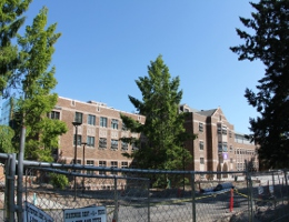 University of Washington HUB construction