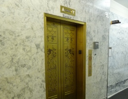 Washington State Capitol Campus - bronze O'Brien Building Elevator