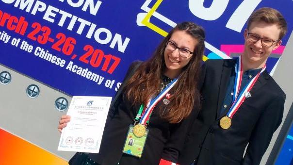 Unge danskere vinder guldmedalje i Kina