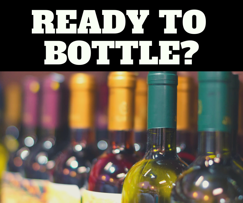 Ready to bottle? bottles with various shrink caps