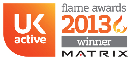 UK Active Flame Awards 2013 - Winner