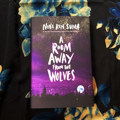 [A ROOM AWAY FROM THE WOLVES shiny beautiful hardcover]