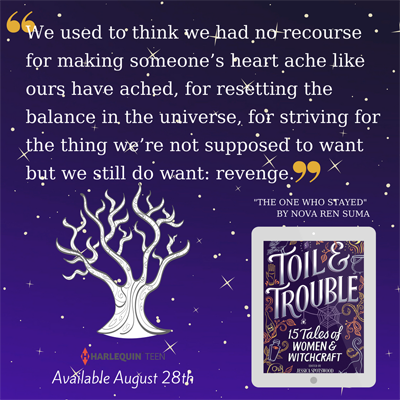 [quote from Toil & Trouble]