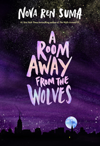 [book cover of A ROOM AWAY FROM THE WOLVES]