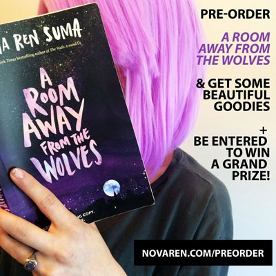 [pre-order A ROOM AWAY FROM THE WOLVES graphic]
