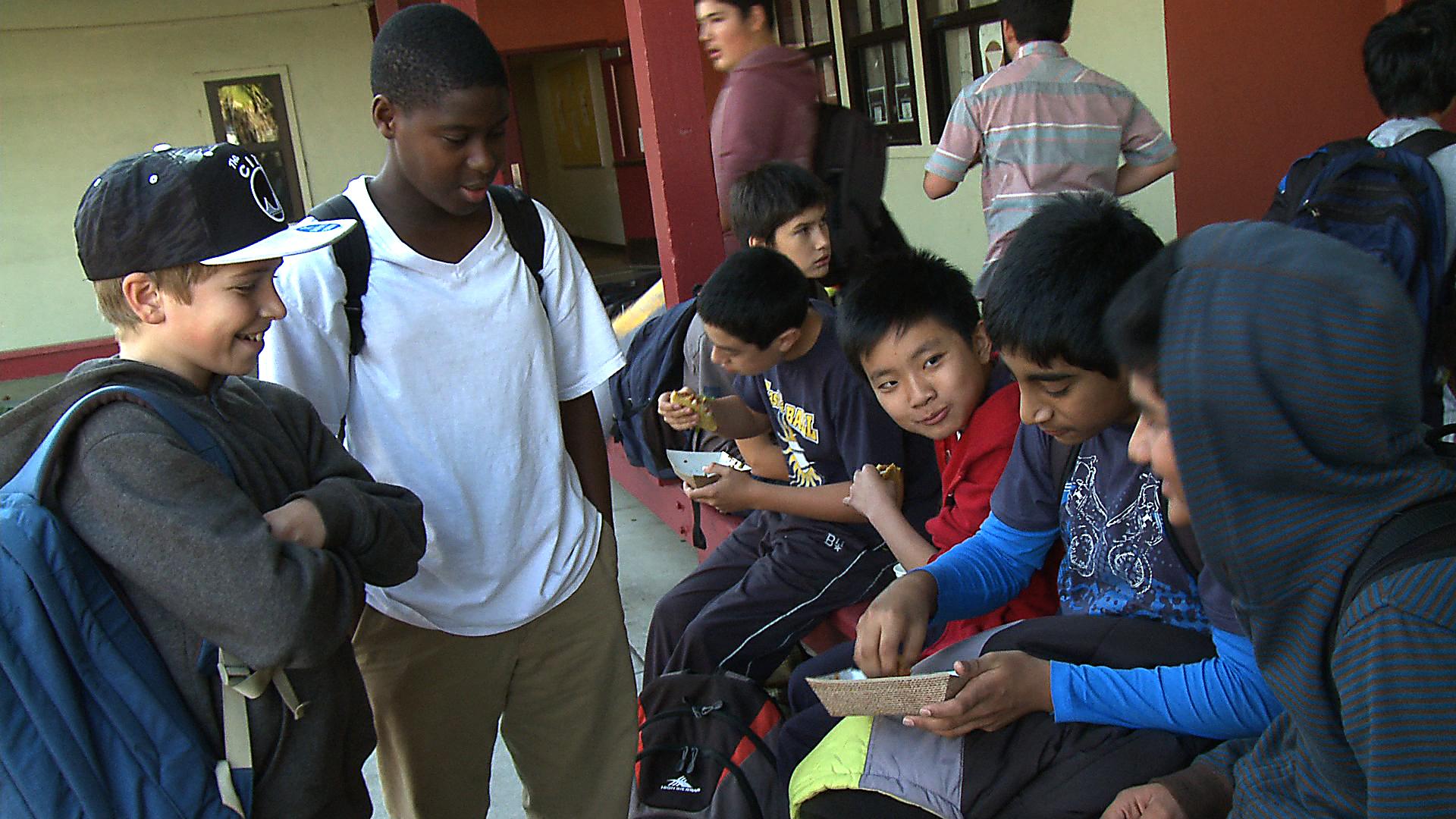 Students at Willard