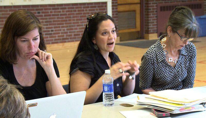 Parents at School Meeting