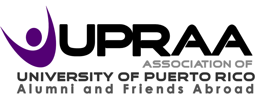 Logo of the Association of University of Puerto Rico Alumni and Friends Abroad