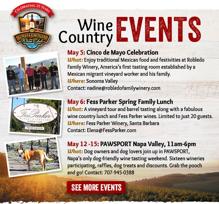 Wine Counrty Events