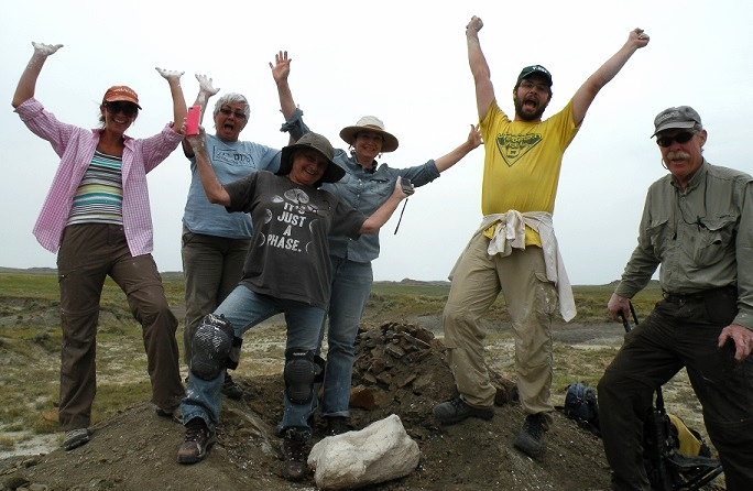 Our excited DIG participants