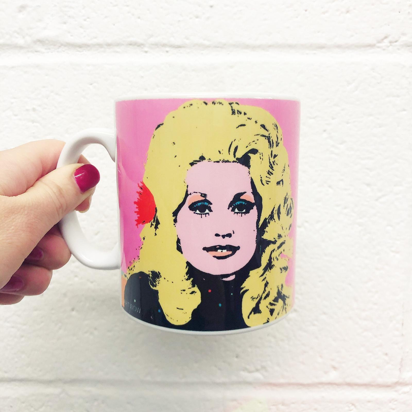 Photo print on mug: Dolly by Wallace Elizabeth – buy on  Artwow