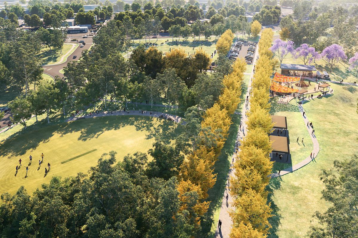 artists impression of regatta park proposal