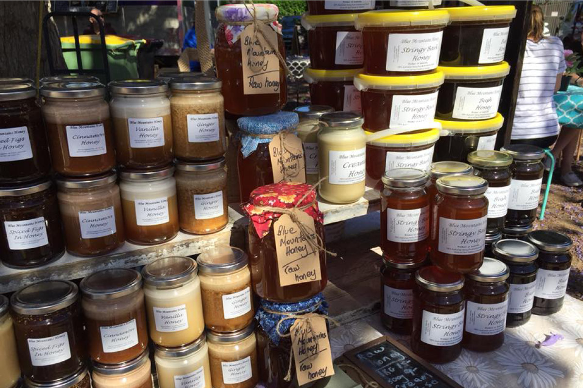 Produce from Blue Mountains Honey