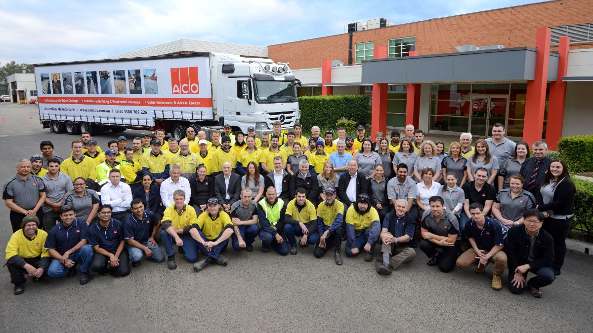 ACO staff and truck