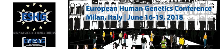 uropean Human Genetics Conference 2017