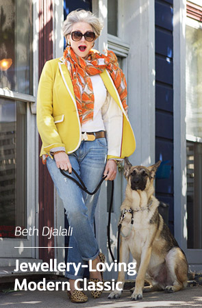 Outstanding Outfit Blogger - Beth Djalali